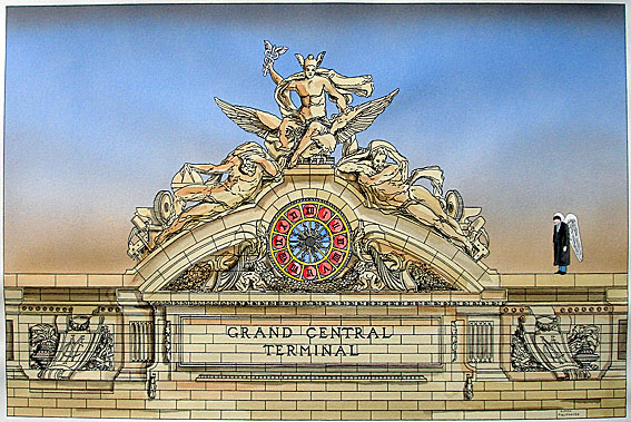 New york architecture images grand central terminal for Grand tableau new york